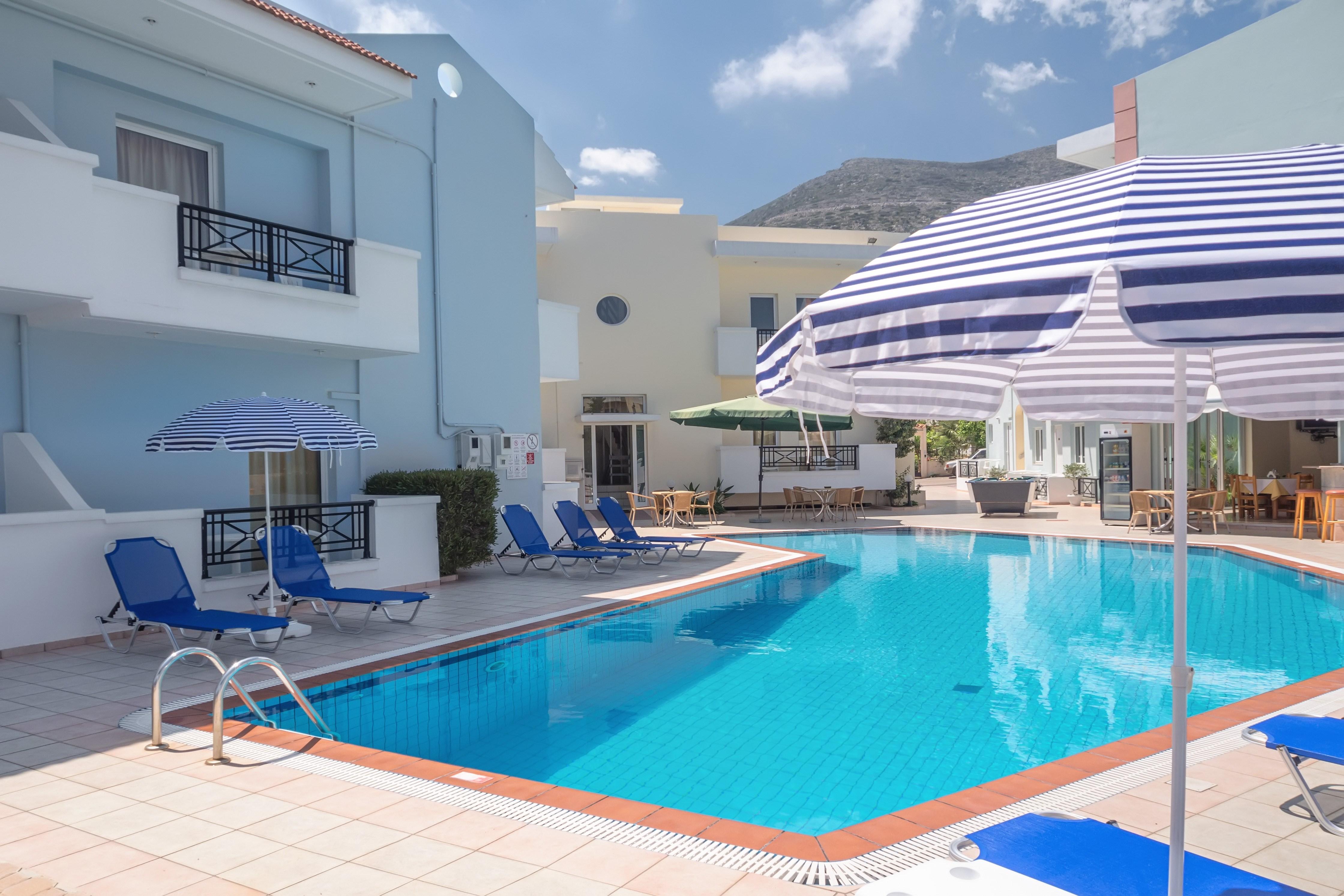 Amazing Athena Apartments In Stalis